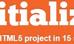 initializr HTML5 Template Generator