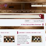 Screenshot of Wine Watch Online